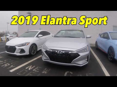 2019 Hyundai Elantra Sport at Faulkner Hyundai Philly