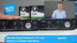 Mackie Onyx Producer & Artist 2 Kanal Audio Interfaces