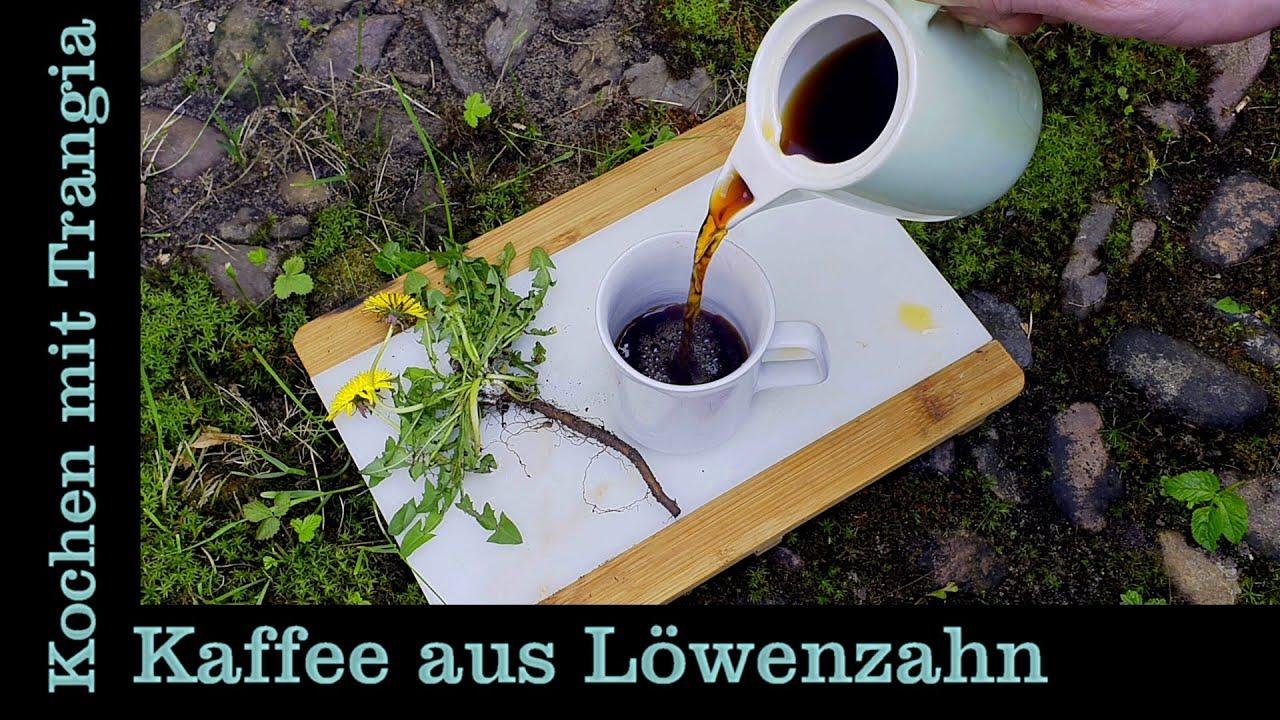 Draußen Kochen mit Trangia: Kaffee aus Löwenzahnwurzeln Muckefuck (Bushcraft Outdoor Camping Rezept)