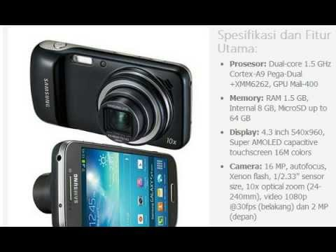 Harga Hp Samsung Galaxy S4 Zoom Youtube