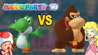 YOSHI VS. ALL THESE B#TCHES! [MINI GAMES ONLY] [MARIO PARTY 10]
