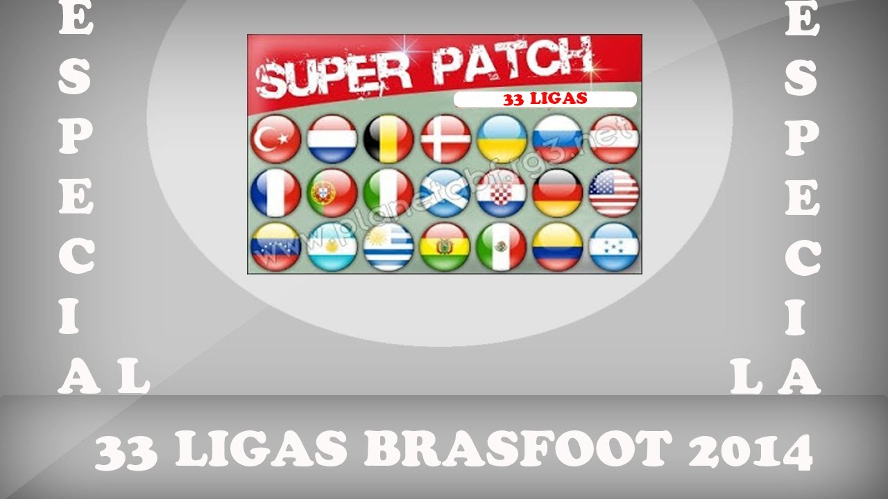 patch de todas as ligas do brasfoot 2013