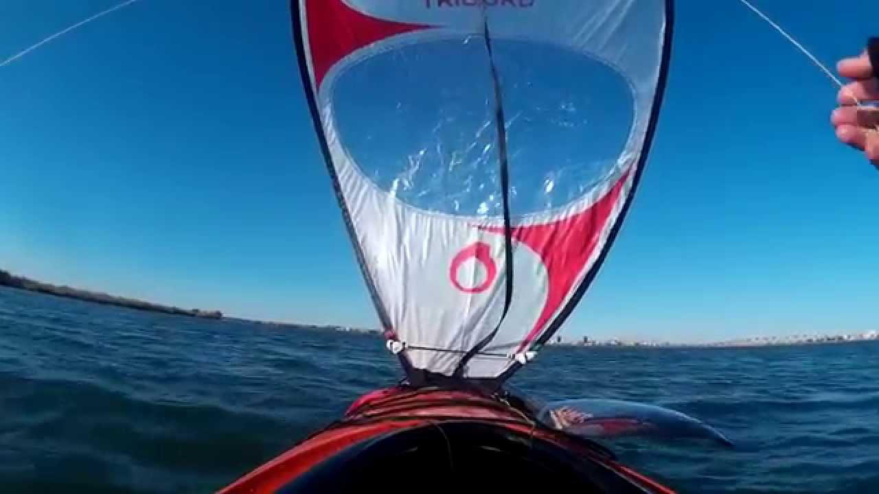 bcef6a5cb Vela tribord decathlon - YouTube