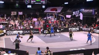 Sao Paulo (BRA) vs Manila West (PHI) - Full Game - 2014 FIBA 3x3 World Tour Final