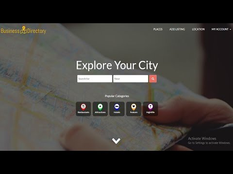 How To Create Business Directory Or Business Listing Website Like Yelp ,  FourSquare