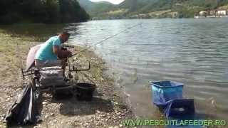 Pescuit la feeder pe Dunare si prezentare montura