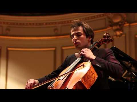 B. Bartók: Rhapsody No. 1, Christoph Croisé, Oxana Shevchenko, Tonhalle Zürich