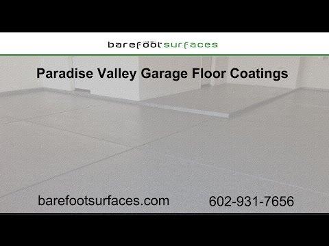 Paradise Valley Garage Floor Coatings | Barefoot Surfaces