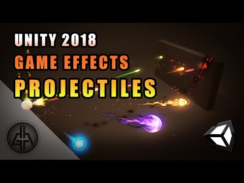 Unity 2018 - Game VFX - Projectile/Bullet Raycast Tutorial thumbnail