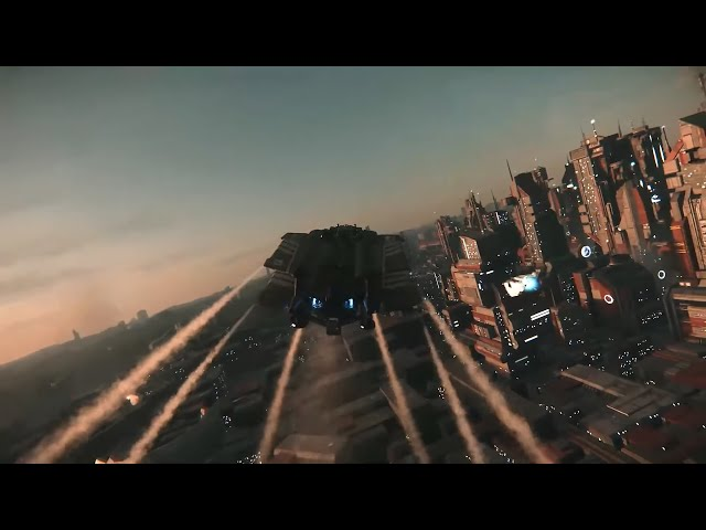 Star Citizen - Next Generation Planetary Gameplay (ArcCorp City)