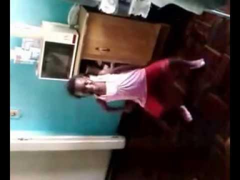Thembi dancing