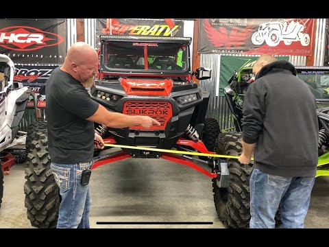 How We Set Up And Align Our UTV's