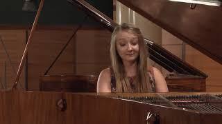 Aleksandra Świgut – M. Szymanowska,  Polonaise in F minor (First stage)