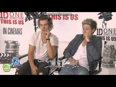 Harry and Niall from One Direction in Scoop With Raya