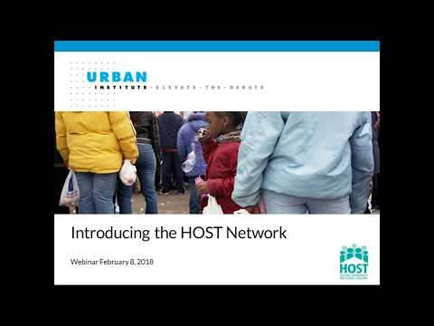Housing Opportunity and Services Together HOST Network Launch