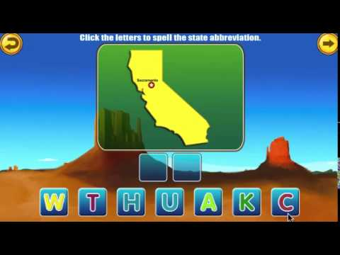Amazing United States- Educational Geography Learning Games for Kids Free