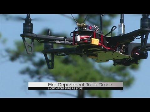 Drone Firefighting