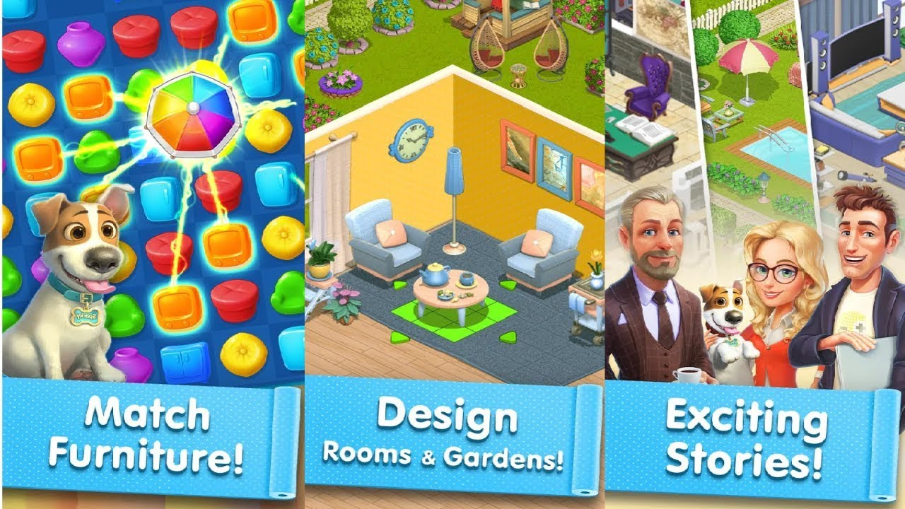 Happy Home Design Decor Android Gameplay