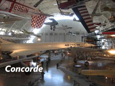 Visit to the National Air and Space Museum in Chantilly, Virginia