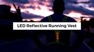 InnovaGoods Gadget Tech LED Reflective Running Vest