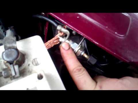 Кнопка отключения МАССЫ ВАЗ 2101-07