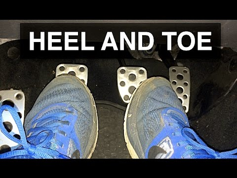 What is heel-and-toe shifting?