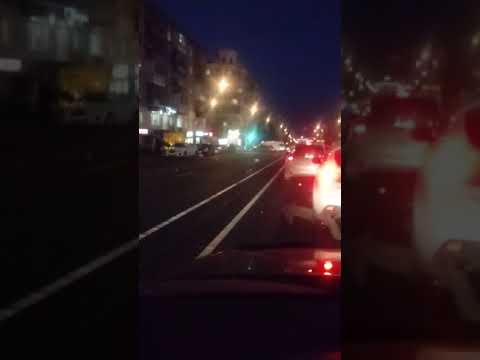 Челябинск. Авария на перекрестке ул. Красной и Сони Кривой 24.10.18.