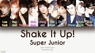 Super Junior - Shake It Up