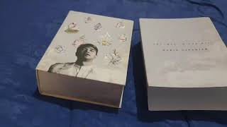 1st stop motion video - unboxing Mario Ginanjar's 1st album, Dreamer in the Rain !