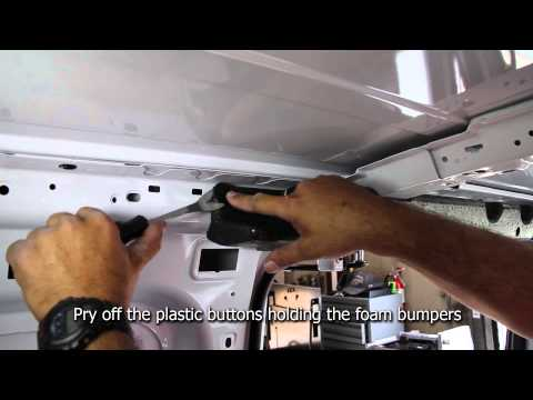 Kargo Master 2014 Transit Connect Partition Bulkhead Installation