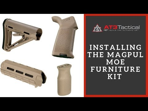 Installing the Magpul MOE Furniture Kit from AT3 Tactical