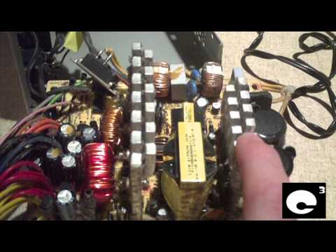 Filthy Power Supply vs. Clean Power Supply
