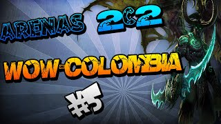 Paladin Holy & Death King Unholy +2v2 2600 WOW COLOMBIA   Skulfractury