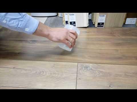 Ламинат с фаской или без фаски эксперимент с водой
