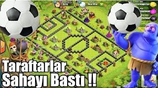 Futbol Sahası Karıştı !!! Clash of Clans