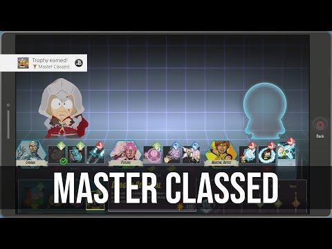 Master Classed Trophy / Achievement Tutorial - South Park: The Fractured But Whole