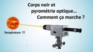 Corps noir et pyrométrie optique