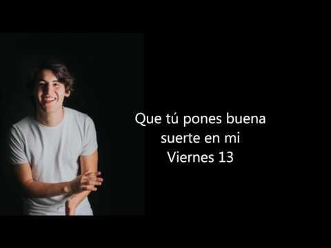 Marcos Menchaca - VIERNES 13 (Letra)