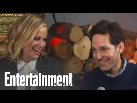 Sundance Hangout With Amy Poehler, Paul Rudd & Cast Of 'They Came Together' | Entertainment Weekly