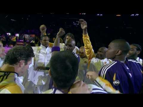 NBA 2009 Playoffs ABC Intro Lakers vs. Jazz Game 1! TruHD