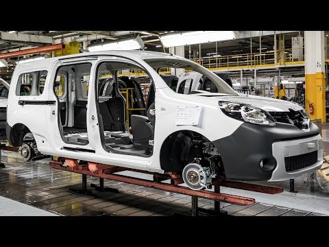 Renault Kangoo Production