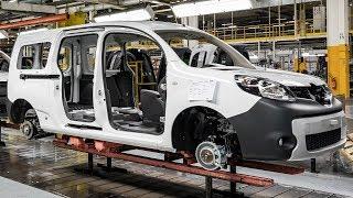 Renault Kangoo Production