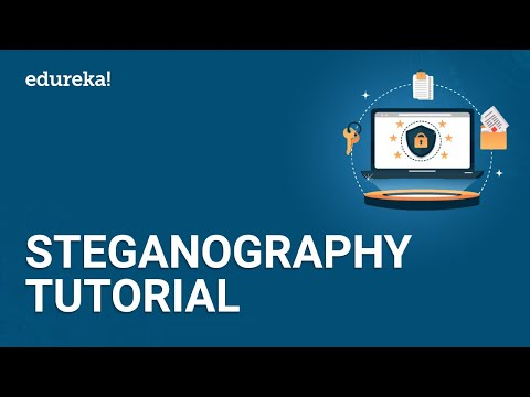 Steganography Tutorial | How To Hide Text Inside The Image | Cybersecurity Training | Edureka