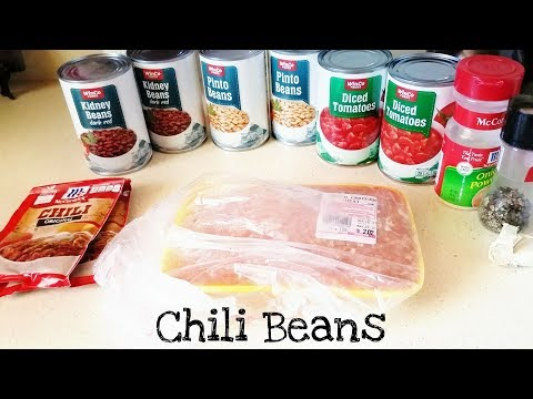 Easy Chili Beans Recipe