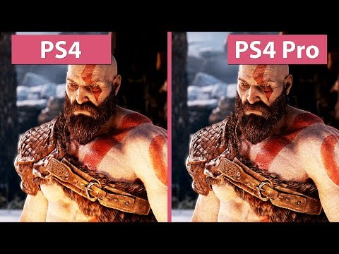 [4K] God of War – PS4 vs. PS4 Pro Frame Rate Test & Graphics Comparison