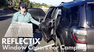 DIY Reflectix Window Covers For Camping And Boondocking