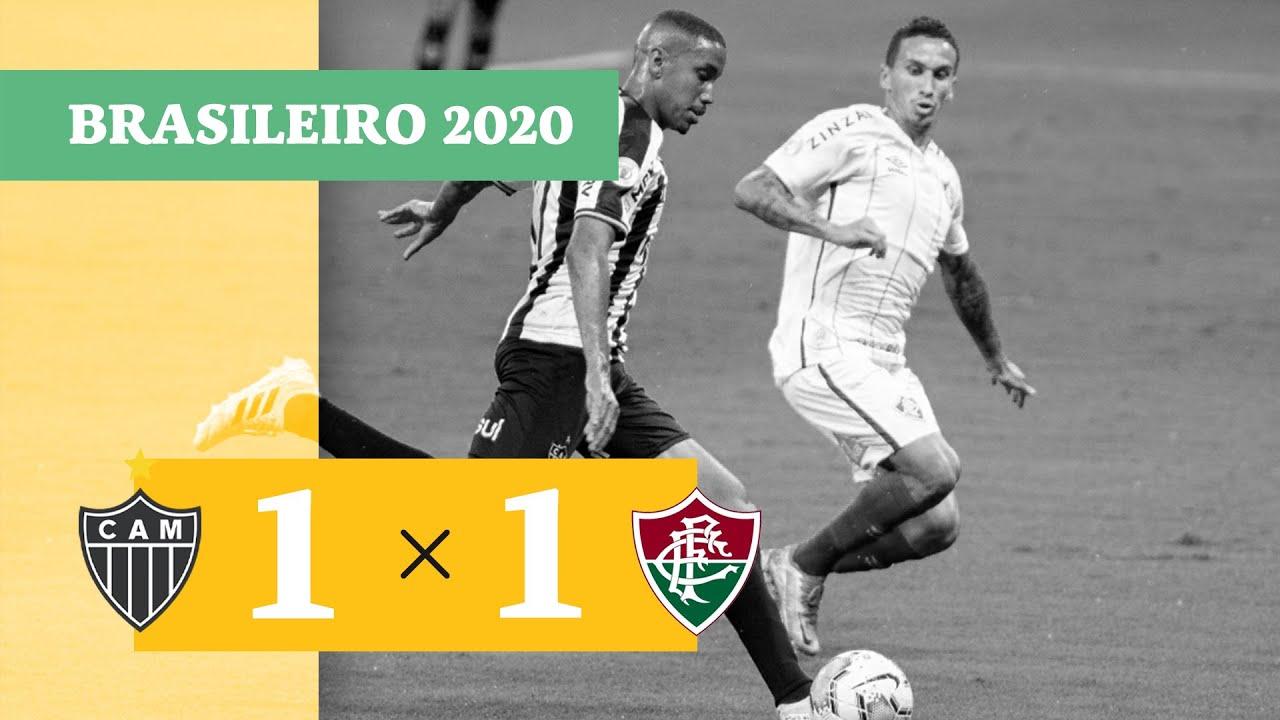 Атлетико Минейро  1-1  Флуминенсе видео