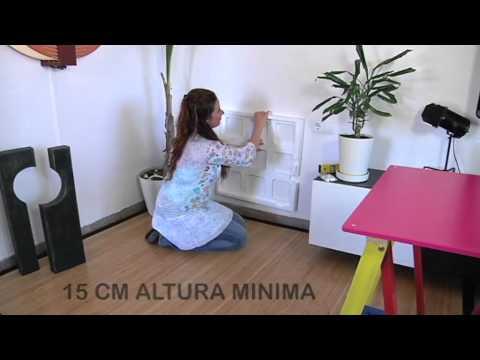 Panel calefactor de bajo consumo youtube - Calefactor bajo consumo ...