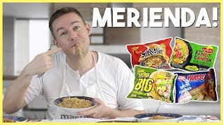 Foreigner ranks PH noodles worst to best (Luckyme Pancit Canton, Yakisoba, Payless, Pancit Shanghai)