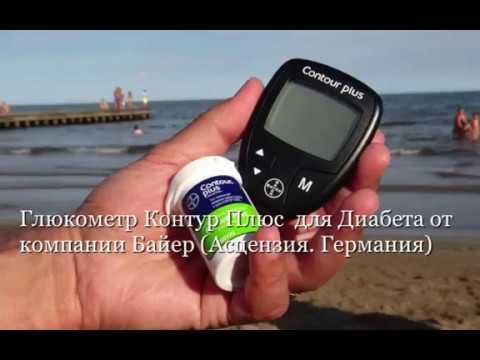 Глюкометр Контур Плюс  для Диабета от компании Асцензия  (Германия)
